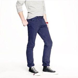 J. Crew 484 Slim Garment-dyed Jean
